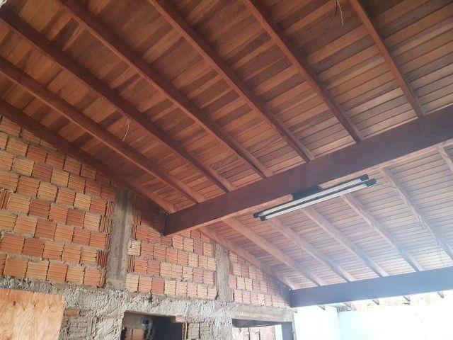 Linda Casa Aero Rancho com Varanda e quintal amplo - Foto 19