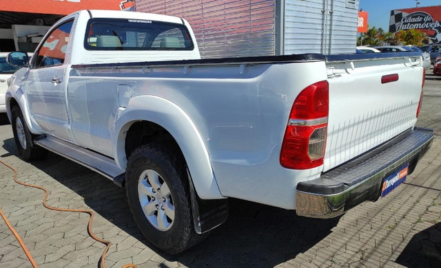 Hilux SRV 3.0 4x4 Diesel Cabine Simples 2008 Completo  -  Raridade - Foto 2