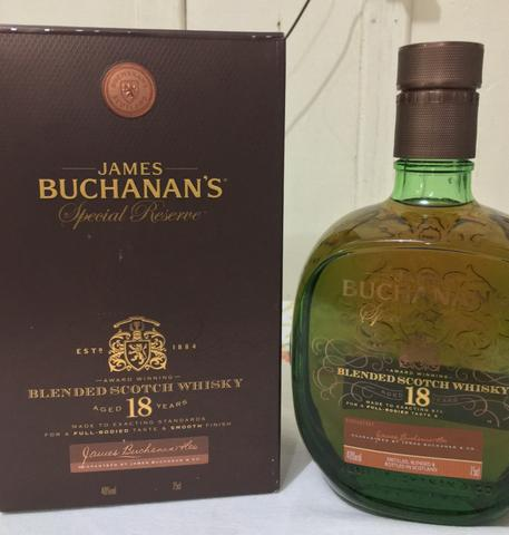 James Buchanan's 18 anos special reserve