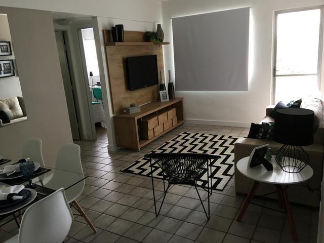 Apartamento 60 metros quadrados 02 quartos 01 vaga PX integração da caxangá
