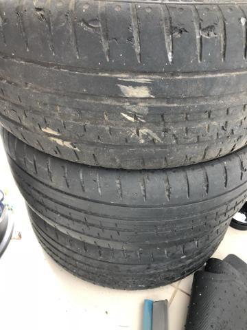 Rodas aro 18, com pneus - Foto 4