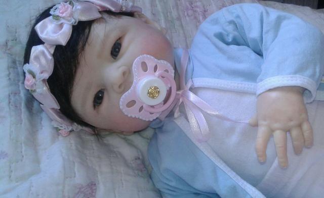 Bebê reborn molde Maylin pronta entrega - Foto 2