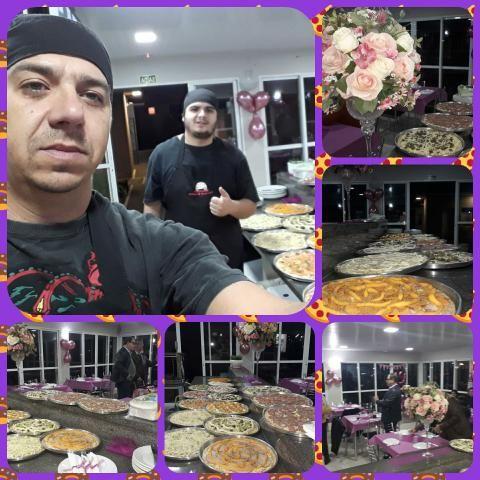 Rodízios de pizza em eventos!