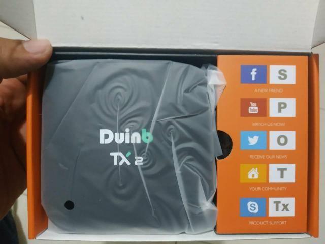Box tv tx2 original* transforme sua tv comum em uma smartv - Foto 3