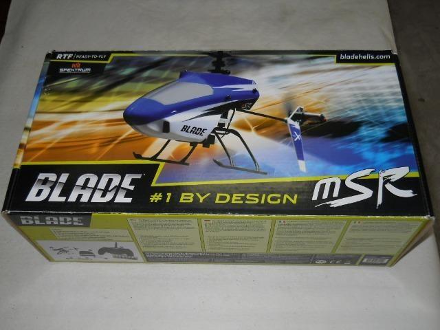 Helicóptero Rádio Controle E-Flite MSR