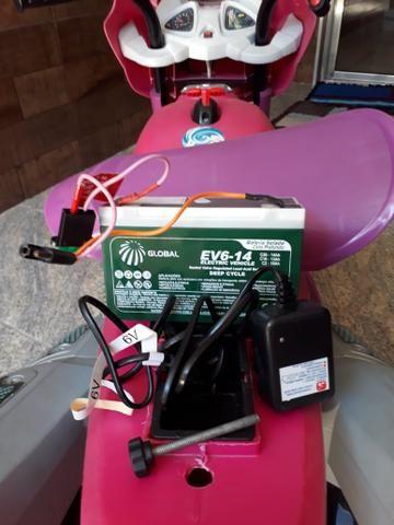 Moto elétrica bandeirante super GT2 6V - Foto 4