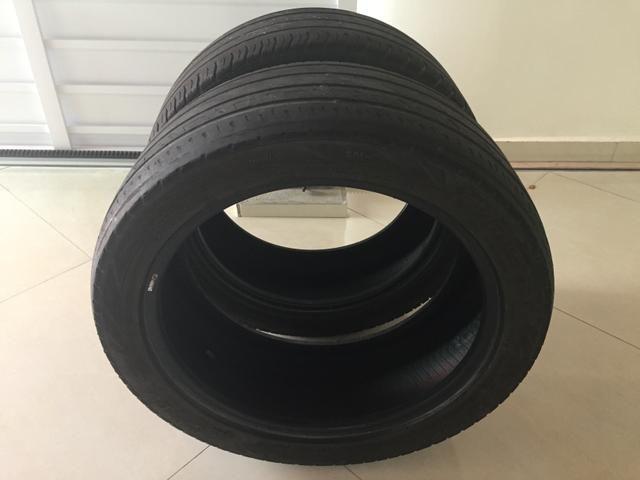 2 pneus usado R17 225/45 - Foto 2