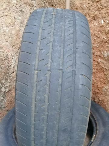 Pneus aro 15/ meia vida/ dois pneus por 120 reais/ * whatsapp - Foto 2