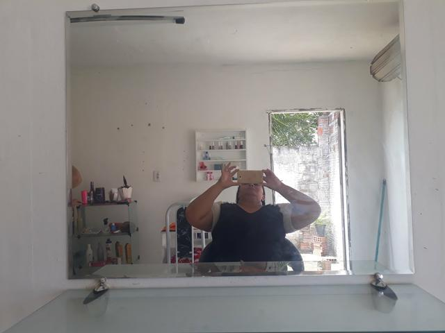 Vende-se espelho com bancada