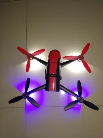 Drone bebop 2 parrot, principal concorrente dji spark e mavic