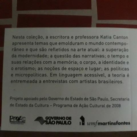 Livro Do moderno ao contemporâneo- Katia Canton - Foto 2