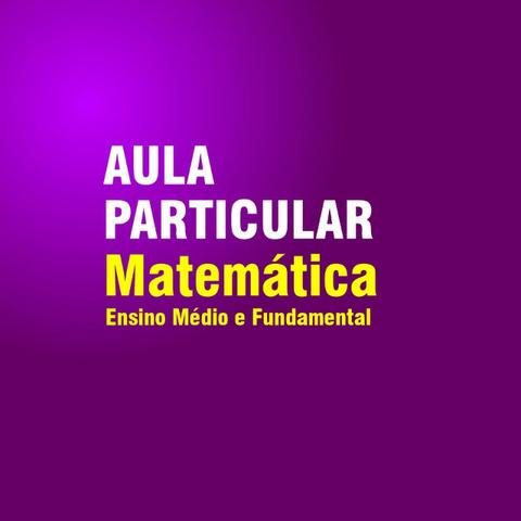Matemática - Reforço e Acompanhamento