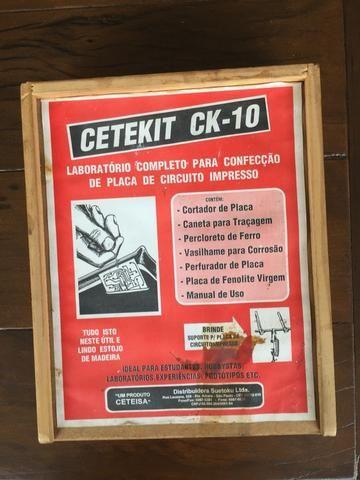 Laboratório Completo para Confecção de Placa de Circuito Impresso Cetekit Ck-10 - Sem uso