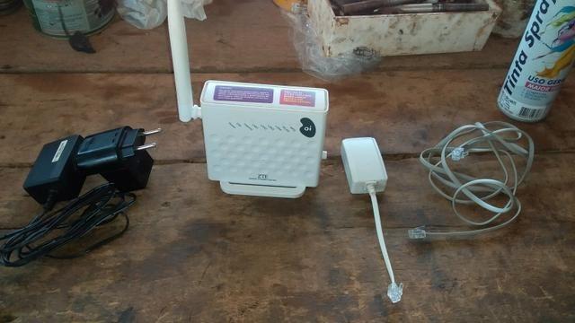 Vendo modem roteador,banda larga,não é fibra e não pega chip - Foto 2