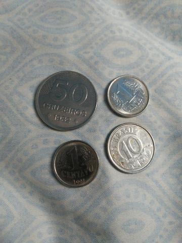 Coleção: moedas antigas