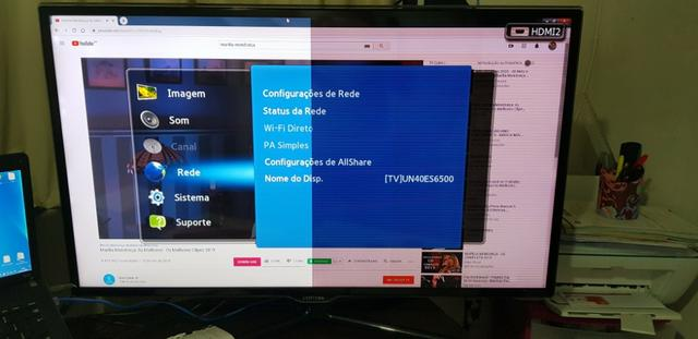 Smart TV Led Samsung 40 FullHD com Conversor Digital - Foto 3