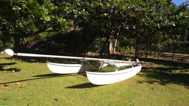 Barco veleiro Hobie cat HC 16 pés - Foto 3