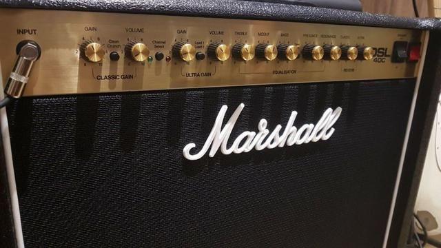 Amplificador Marshall Dsl 40C Valvulado - Foto 4