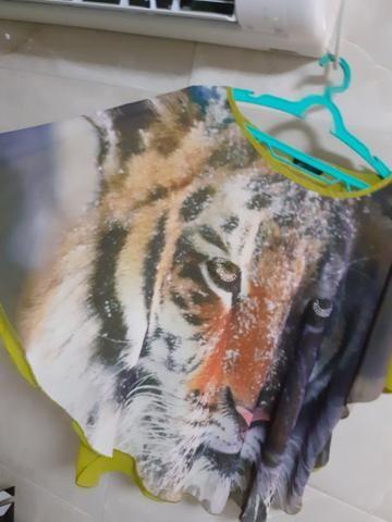 Blusas GG/ XG Femininas de ótima qualidade. Crepe e viscose - Foto 2