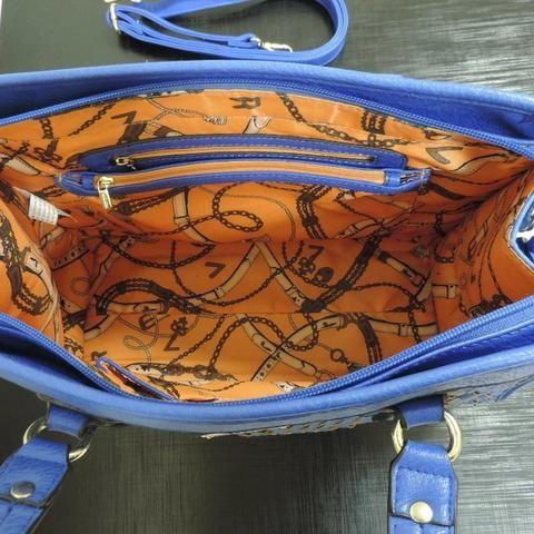 Bolsa Original Veryrio Azul Feminina - Foto 5
