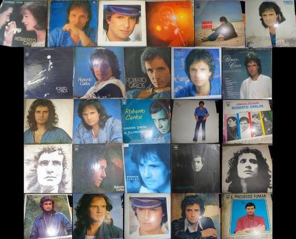 LPs Roberto Carlos- diversos