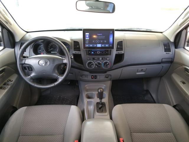 Toyota Hilux CD SR 2.7 WTi 2010 GASOLINA - Foto 17