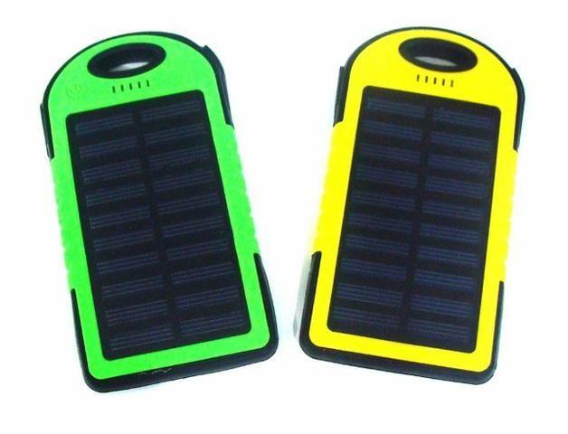 Carregador Bateria Externa Solar 8000 Mah Usb Celular Tablet - Foto 4