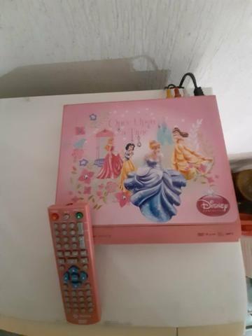 Aparelho DVD Disney Princesas