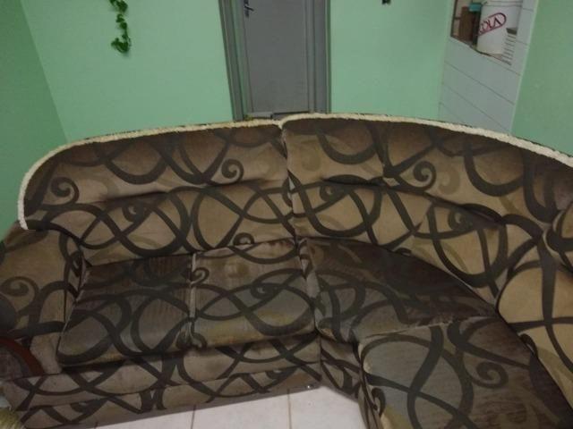 Vendo sofá de canto 6 lugares - Foto 2