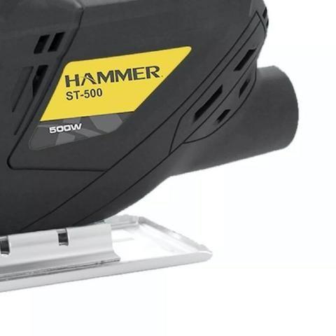 Serra Tico-Tico para Madeira, Alumínio e Aço 500w 220v - Hammer ST500 - Foto 5