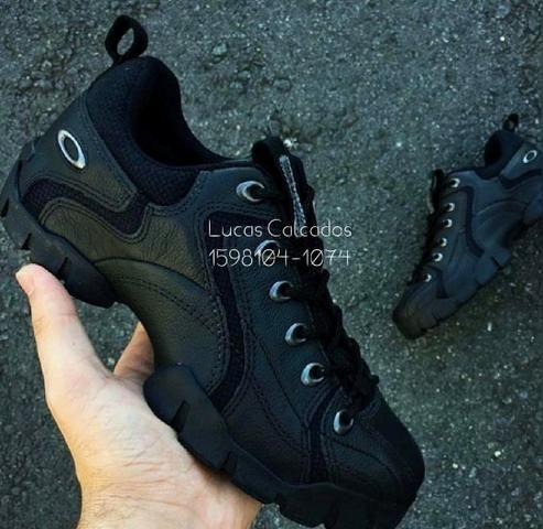 81b5ab84f50aa ÓTIMO PREÇO!! Tênis Oakley Flak Preto - Roupas e calçados - Jardim ...