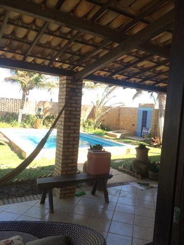 Excelente casa na praia da tabuba do morro branco Beberibe alugo 900 reais - Foto 4