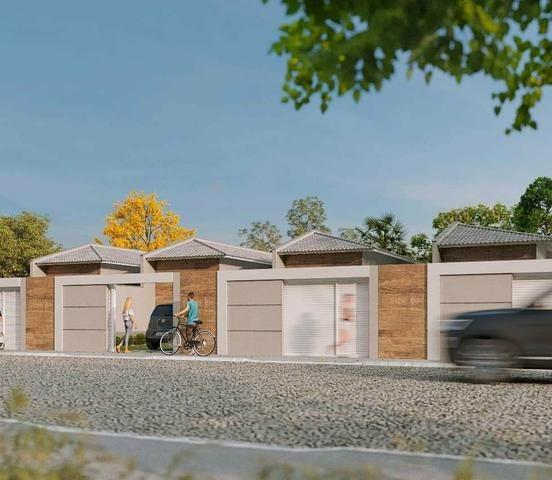 Casas em rua privativa no centro do eusébio lançamento 3 quartos - Foto 3