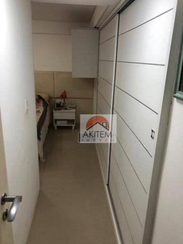 Apartamento na Beira Mar com 4 dormitórios à venda, 146 m² por R$ 620.000 - Casa Caiada -  - Foto 17