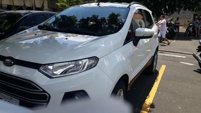 EcoSport automática 1.6 Branca