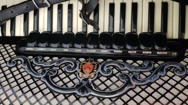 Gaita acordeon Scandalli S6 120 baixos italiana - Foto 5