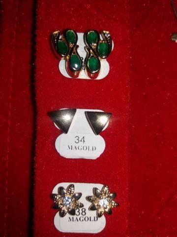 Vendo semi jóias folheadas ouro 18k - Foto 4