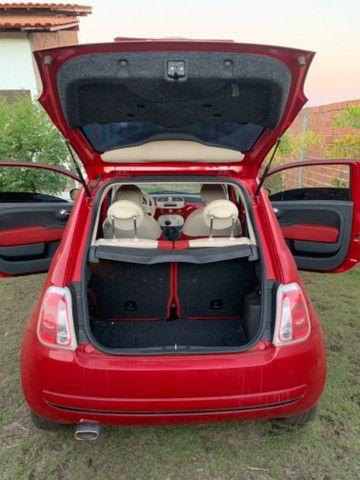 Fiat 500 2013 1.4 Flex Manual Completo - Foto 6