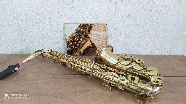 Sax alto vogga usado revisado completo  - Foto 6