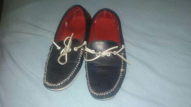 Sapato Mocacine usado apenas 3vz so 23 reais - Foto 2