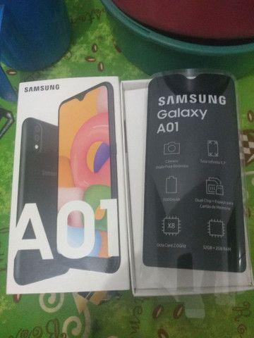 Samsung A01 500 REAIS  - Foto 2