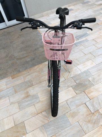 Bicicleta aro 24 esportiva Caloi 21 marchas  - Foto 4
