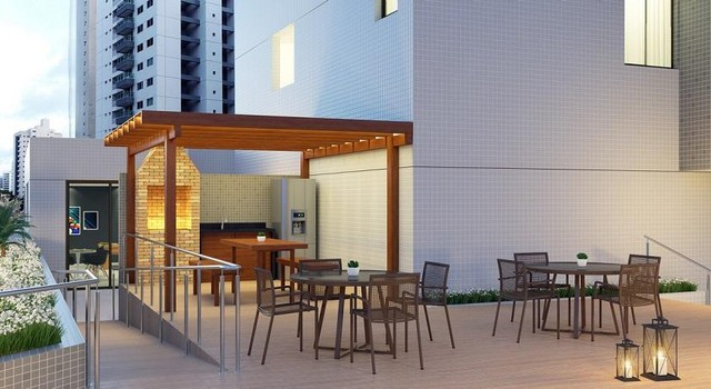 Apartamento para Venda em João Pessoa, Bessa, 3 dormitórios, 2 suítes, 3 banheiros, 1 vaga - Foto 5