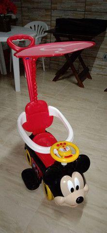 Carrinho de passeio infantil Mickey - Foto 6