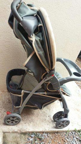 Carrinho de bebê pra vender rápido  - Foto 3