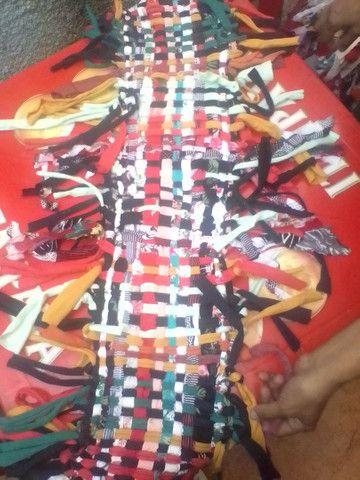 Tapetes artesanais tecidos a mão  - Foto 2