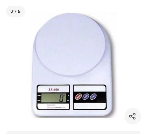 Balança Cozinha Digital 10kg Alta Precisão Dieta E Nutrição<br><br>