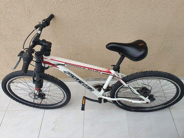 Bicicleta Aro 26 Freio Disco Fischer Runner Alloy Com Nota Fiscal - Foto 6