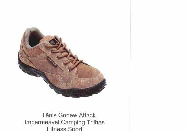 Tênis Gonew Attack Impermeável Camping Trilhas Fitness Sport