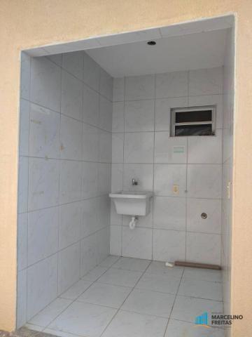Casa com 3 dormitórios para alugar, 120 m² por r$ 1.239,00/mês - tamatanduba - eusébio/ce - Foto 17